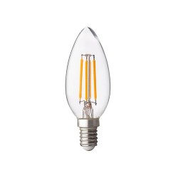 2W LED FILAMENT E14 KERZE RETROFIT PREMIUM WARMWEIß GL1417