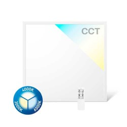 40W LED Panel Ultraslim CCT CRI90 620x620cm Fernbedienung oder SMART WIFI GL2340