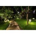 Garage- und Garten-Beleuchtung