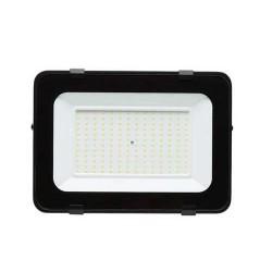 150W LED Strahler SMD IP65 Schwarz Budget Plus Neutralweiß AS0215