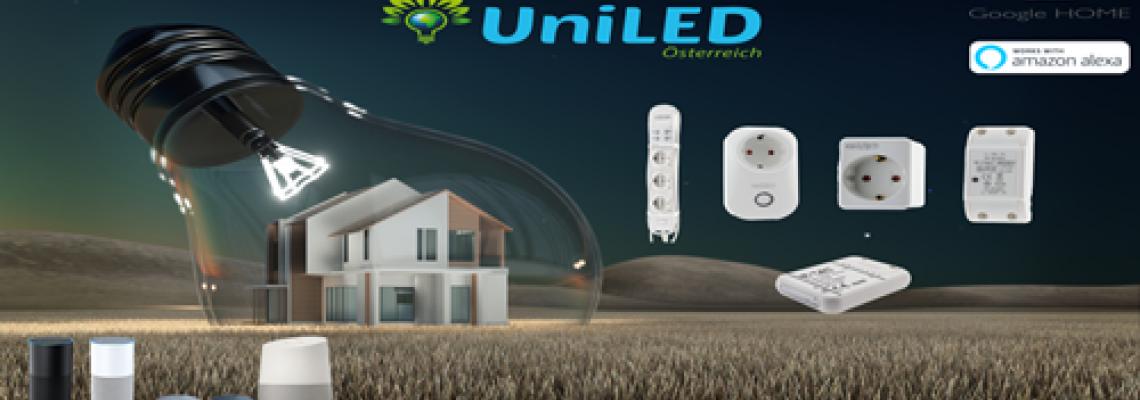 LED Smart HOME Lösungen von UniLED AUSTRIA