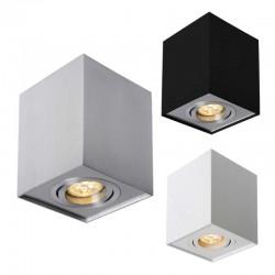 LED Aufbau Leuchte für GU10 Spots Quad Weiß VL4046