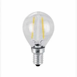 4W LED E14 Lampe GF45 Birne für Kronleuchter und Pendelleuchten Warmweiß VL3576