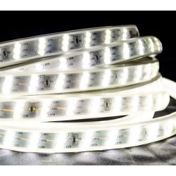 12W 180 SMD/m 2835 LED Flex Streife 230V 1m HI-LUMEN 2670Lm/m WASSERDICHT IP67 Kalt-, Neutral-, Warmweiß GL4526/GL4525/GL4524