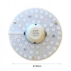 24W LED PLATTE MAGNET Kaltweiß GL4803