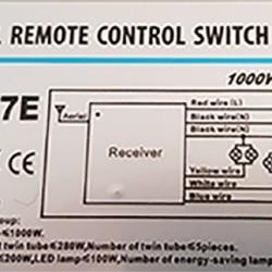 LED BELEUCHTUNG RF CONTROLLER FERNBEDIENUNG 230V GL6200