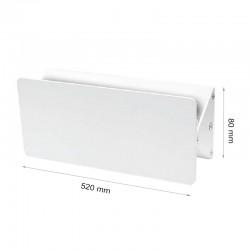 15W LED WANDBELEUCHTUNG IP44 SIERRA WEIß Neutral-, Warmweiß GL7110/GL7111