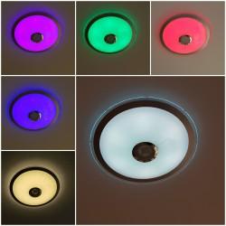 36W LED Deckenleuchte CCT/RGB PARTY EDITION mit Lautsprecher Alle Lichtfarben GL6450