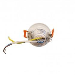 3W Led Einbauspot Angle Eye R03 Weiß Neutralweiß GL2008
