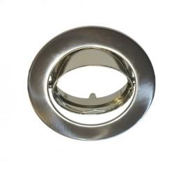EINBAUSPOT KÖRPER Ø82*29mm fürLED MR16 / LED GU10 Nickel gebürstet GL5183