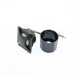 3W LED Treppenleuchte Premium Design RD09 Neutralweiß GL8320