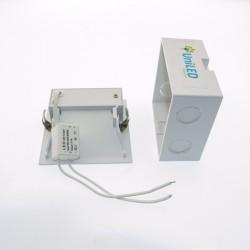 2W LED Treppenleuchte Einbau Quad IP20 Weiß Neutralweiß GL8323