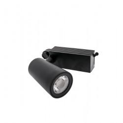 20W LED Schienen Fluter 3Phasen PRO 24° 3 Jahre Garantie Schwarz Warmweiß GL5113