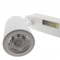 30W LED Schienen Fluter 3Phasen PRO 24° 3 Jahre Garantie Weiß Warmweiß GL5119