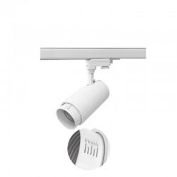 20W LED Schienen Fluter 3Phasen VARIO PRO 24° 3 Jahre Garantie Weiß Neutralweiß GL5121