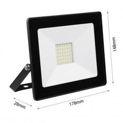 30W LED Fluter SMD IP65 Schwarz DECO Kalt-, Warmweiß GL5205/GL5206