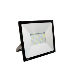 80W LED Fluter SMD IP65 Schwarz DECO Kaltweiß GL5209