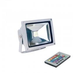 20W LED Fluter RGB Dimmbar und Ferngesteuert GL5451