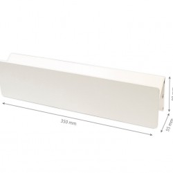 10W LED WANDBELEUCHTUNG IP44 SIERRA WEIß Neutral-,Warmweiß GL7104/GL7109