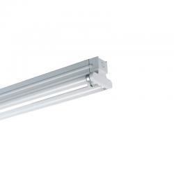 52W T8 LED LEUCHTKÖRPER Balkenleuchten für T8 LED Röhren 150 cm 2 Röhren IP20 Kaltweiß oder Neutralweiß 75258