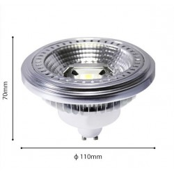 12W AR111/GU10 LED Spot 230V 40° Neutralweiß GL1230