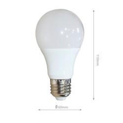 7W E27 LED Birne Premium 270° A60 für Lampenschirm Matt 3000K-6400K