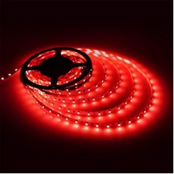 60SMD/m Flex LED-Streife/ LED Leiste für indirekte Beleuchtung 1m Rot GL4107