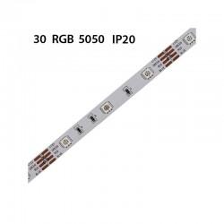 1200 SMDs RGB Flex Streife / Leiste 20m 24V PREMIUM GL43202