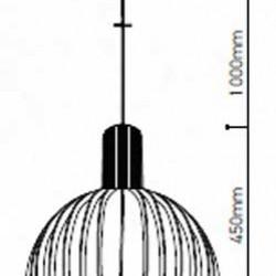 Holz Pendelleuchte für LED E27 Design Hängeleuchte UL40501