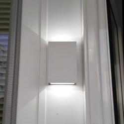 4W Premium LED Wandleuchte Schwarz IP65 Kalt-, Warmweiß UL8563/UL8561