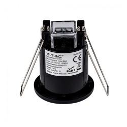 Bewegungsmelder Einbau 360° IP20 IR SENSOR LED 400W Schwarz UL6609