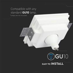 Einbauleuchte Gips Trockenbau GU10 Spot Quad UL3649