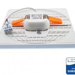 24W LED Einbau Panel Verstellbar SAMSUNG Quadratisch 5 Jahre Garantie UL0744/UL0743/UL0742