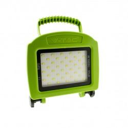 20W LED Akku Scheinwerfer Wiederaufladbar Grüne Gehäuse SMD Kaltweiß UL5735