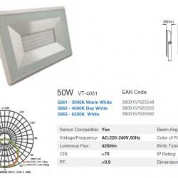 50W LED Fluter SMD Standard i-DESIGN Weiß IP65 UL5963/UL5962/UL5961
