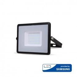 30W LED Scheinwerfer PRO SERIE IP65 SCHWARZ SAMSUNG