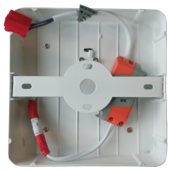6W+2W Twin LED Aufbau Panel - QUAD Kalt-, Neutral-, Warmweiß UL4924/UL4923/UL4922