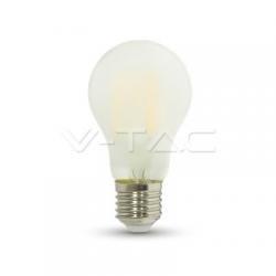 7W E27 LED FILAMENT A60 300° Glass Kaltweiß Matt 3000K-6400K UL7183/UL7182/UL7181
