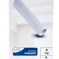 20W LED Schienenleuchte 3 Phasen SAMSUNG Dioden Weiß Gehäuse Kaltweiß UL0364