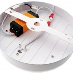 12W+3W Twin LED Aufbau Panel - Rund Warmweiß EMC Kalt-, Neutral-, Warmweiß UL4895/UL4894/UL4893