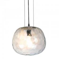 Design Glas Pendelleuchte für LED E27 3 Draht/Kabel Hängeleuchte UL3883