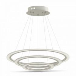 70W Design LED Luster 3 Stufen Dimmbar 3 Jahre Garantie Hängeleuchte Neutralweiß UL3905