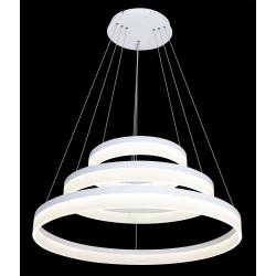 80W Design LED Luster 3 Stufen Dimmbar 3 Jahre Garantie Hängeleuchte Neutralweiß UL3907