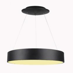 20W Design LED Pendelleuchte Dimmbar 3 Jahre Garantie Hängeleuchte Schwarz Warmweiß UL3993