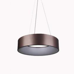 30W Design LED Pendelleuchte Dimmbar 3 Jahre Garantie Hängeleuchte Kaffe Warmweiß UL3997