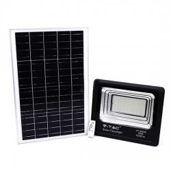 SOLAR LED STRAHLER 550LM PREMIUM MIT SOLAR PANEL VT-25W KALTWEIß UL94006