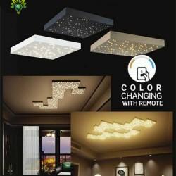 8W LED Sternenhimmel Modul Premium CCT Farbwechsel mit Fernbedienung 3000-4000K Gold/Schwarz/Weiß UL40301/UL40291/UL40281