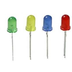LED Dioden 272 Weitwinkel 120° 5 Stk SET Rot, Gelb, Grün, Blau GL0150F
