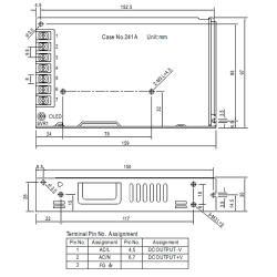 150W MEANWELL Netzteil C.V.  5V-48V LRS150CV