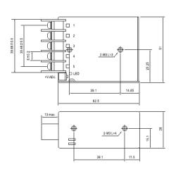 15W MEANWELL Netzteil C.V.  5V-48V RS15CV